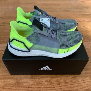 Adidas Ultraboost 19 Grey Mens Shoes